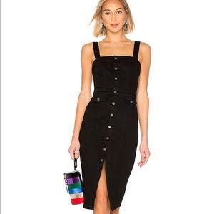 NWT GRLFRND Petra Dress in Black - Size SM